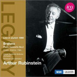 Arthur Rubinstein Live in Zurich 1966