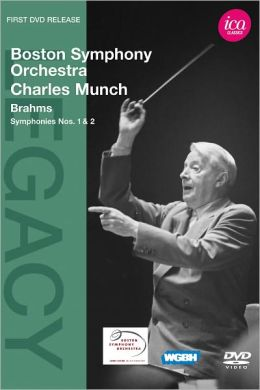 Boston Symphony Orchestra/Charles Munch: Brahms - Symphonies Nos. 1 & 2