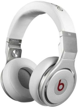 Monster Beats by Dre Pro High Performance Professional Headphones  - White