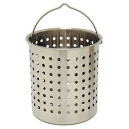 Barbour B160 Bayou Classic Stainless Perforated Basket - 62 Quart
