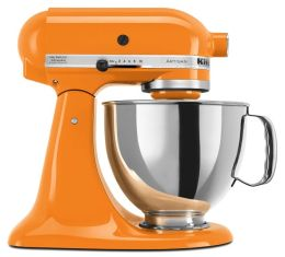 KitchenAid® KSM150PSTG Artisan® Series 5-Quart Tilt-Head Stand Mixer, Tangerine