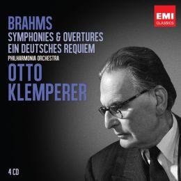 Brahms: Symphonies & Overtures; Ein Deutsches Requiem