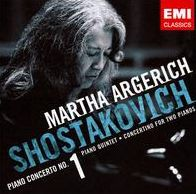 Shostakovich: Piano Concerto No. 1, Piano Quintet, Concertino for Two Pianos