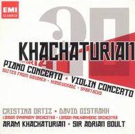 Aram Khachaturian: Piano Concerto; Violin Concerto