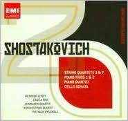 Shostakovich: String Quartets Nos. 3 & 7; Piano Trios Nos. 1 & 2; & others