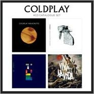 4 CD Catalogue Set: Parachutes/A Rush of Blood to the Head/X&Y/Viva La Vida