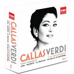 Callas, Verdi: Four Legendary Live Performances