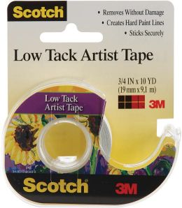 Scotch Low Tack Artist Tape-.75