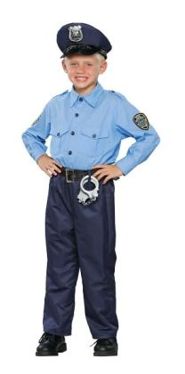 Deluxe Policeman Child Costume: Size Small (5-7)