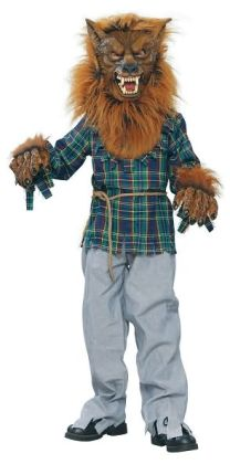 Deluxe Werewolf Child Costume: Size Small (5-7)