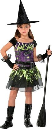 Spellcaster Witch Child Costume: Medium (8-10)