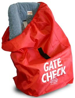 Childress Car Seat Gate Check Bag Red