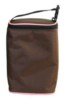 Childress Tall TwoCOOL 2-Bottle Cooler, Cocoa Pink