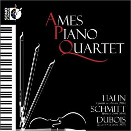 Hahn: Quartet in G; Schmitt: Hasards; Dubois: Quartet in A minor