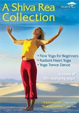 Shiva Rea Collection: Flow Yoga for Beginners/Radiant Heart Yoga/Yoga Trance Dance