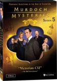Video/DVD. Title: Murdoch Mysteries: Season 5