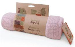 Babyluxe Bamboo Blanket -  Pink/Blue