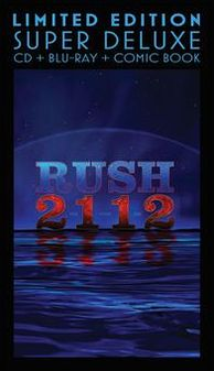 2112 [CD/BR] [Comic Book] [Super Deluxe] [Box Set]