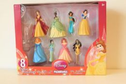 Disney Princess 8 piece set