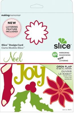 Slice Design Card-Noel Layered