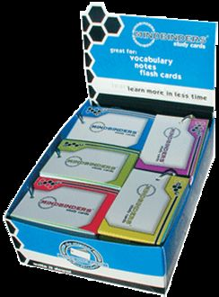 Mindbinders Ringbound Note Cards Large 16 Ct