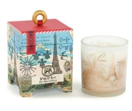 Paris Small Soy Wax Candle 6.5oz