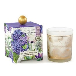 Hydrangea Large Soy Wax Candle 14 oz