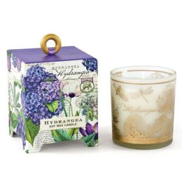 Hydrangea Small Soy Wax Candle 6.5 oz