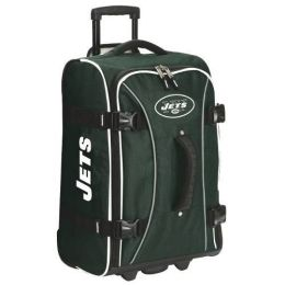 Athalon Sportsgear 171JET Athalon NFL Wheeling Hybrid Luggage 21 in. New York Jets Green