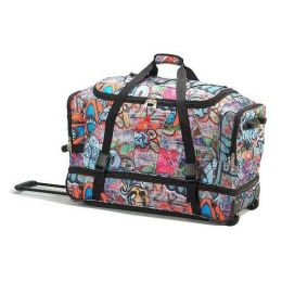 Athalon Sportsgear 888G Athalon 29 in. Equipment Wheeling Duffel Graffiti