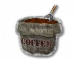 All My Walls COF00001 Bag o' Beans Metal Wall Art