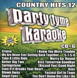 Party Tyme Karaoke: Country Hits, Vol. 12