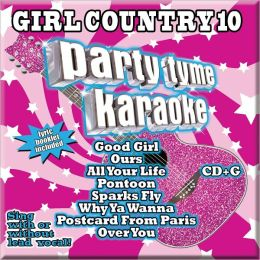 Party Tyme Karaoke: Girl Country, Vol. 10