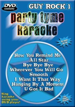 Party Tyme Karaoke: Guy Rock, Vol. 1