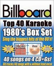Billboard Top 40 Karaoke: 1980s [Box]