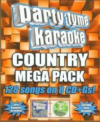 Party Tyme Karaoke: Country Mega Pack