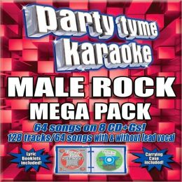 Party Tyme Karaoke: Male Rock Mega Pack