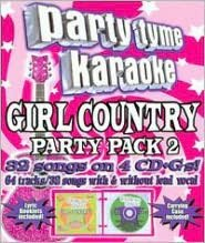 Party Tyme Karaoke: Girl Country Party Pack, Vol. 2