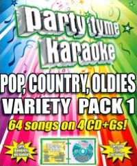 Party Tyme Karaoke: Pop, Country, Oldies Variety Pack, Vol. 1