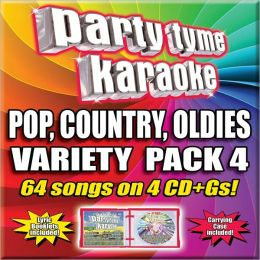 Party Tyme Karaoke - Variety Pack 4 [4 CD]