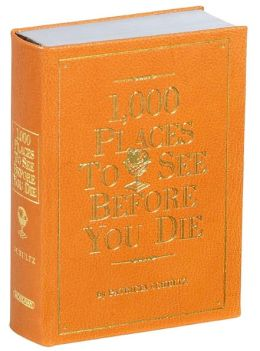 1,000 Places to See Before You Die - Orange