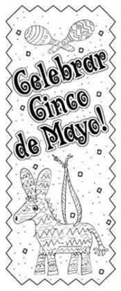 Barker Creek LL-2113 Create-To-Celebrate Bookmarks - Cinco de Mayo