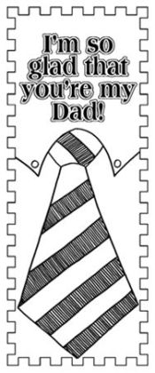 Barker Creek LL-2115 Create-To-Celebrate Bookmarks - Fathers Day