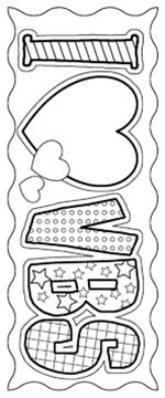 Barker Creek LL-2124 Create-To-Celebrate Bookmarks - I Love VBS