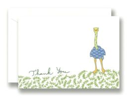 Ostrich Neo Thank You Set of 10