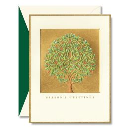 Whimsical Tree Christmas Boxed Card