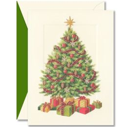 Merry Tree Christmas Boxed Card
