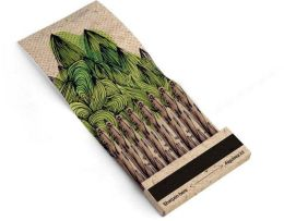 Recycled Paper Pencils Set of 8