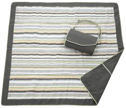 JJ Cole Outdoor Blanket -Gray/Green