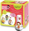 Product Image. Title: KETTO Paint-it-yourself Vases - Fairy Theme